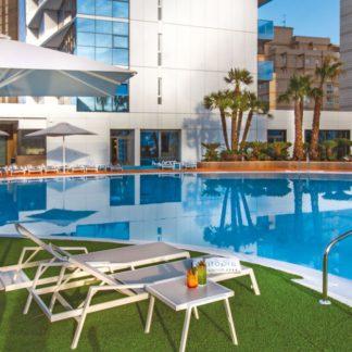 Fietsvakantie in Calpe in hotel Suitopia Hotel