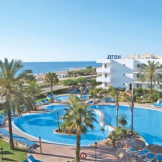 Fietsvakantie in Mojacar in hotel Best Oasis Tropical Hotel