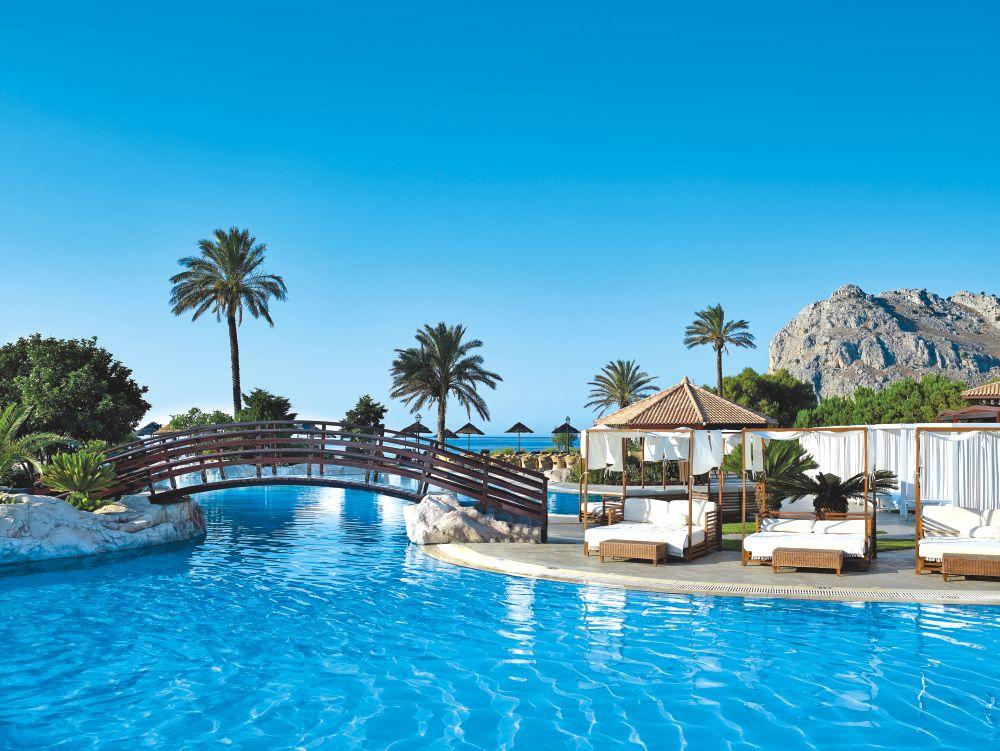 Oceanis Beach Spa Resort Rhodes