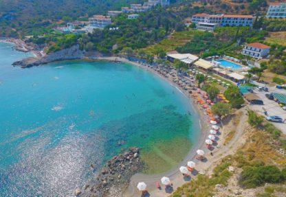 Glicorisa Beach in Griekenland
