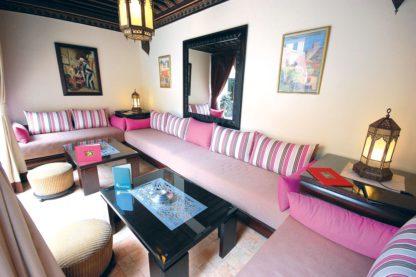 Les Borjs de la Kasbah in Marokko
