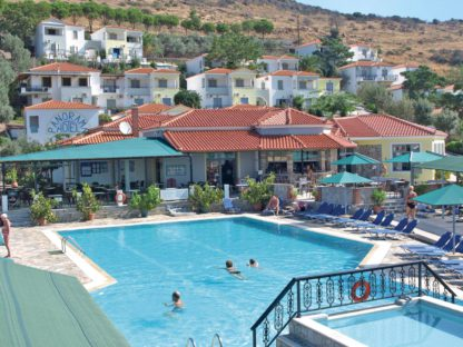 Panorama in Griekenland