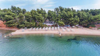 Porfi Beach in Griekenland